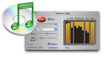 Volume Logic iTunes plug-in