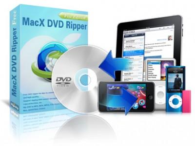 MacX DVD RipperスマホやタブレットでDVDが見れるようになる人気ソフトが無料