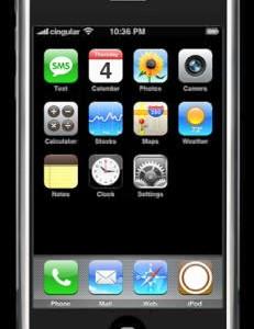 iPod+PDA+携帯=iPhoneがついに登場