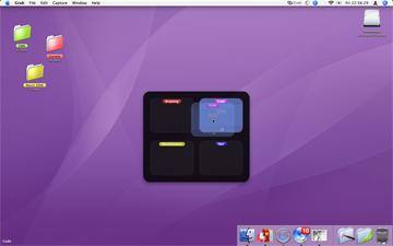 ノートパソコンなど画面が狭い時に便利なVirtueDesktops